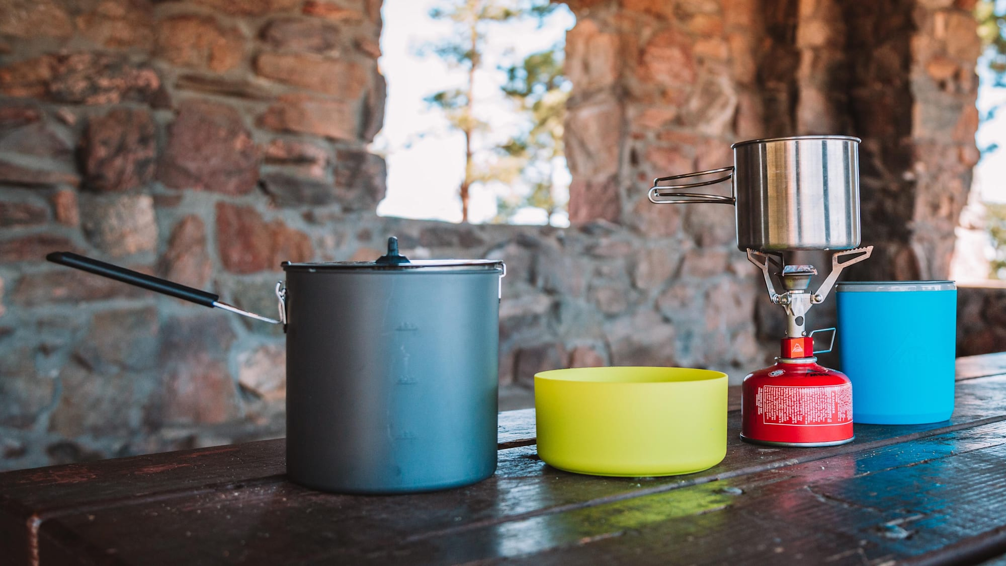 Summer Car Camping Gear - Cookware