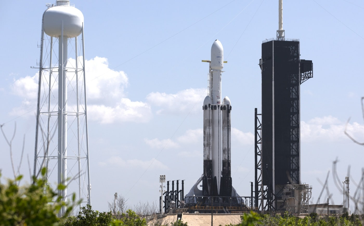 Watch SpaceX attempt a 'most challenging' Falcon Heavy launch at 2:30 AM ET