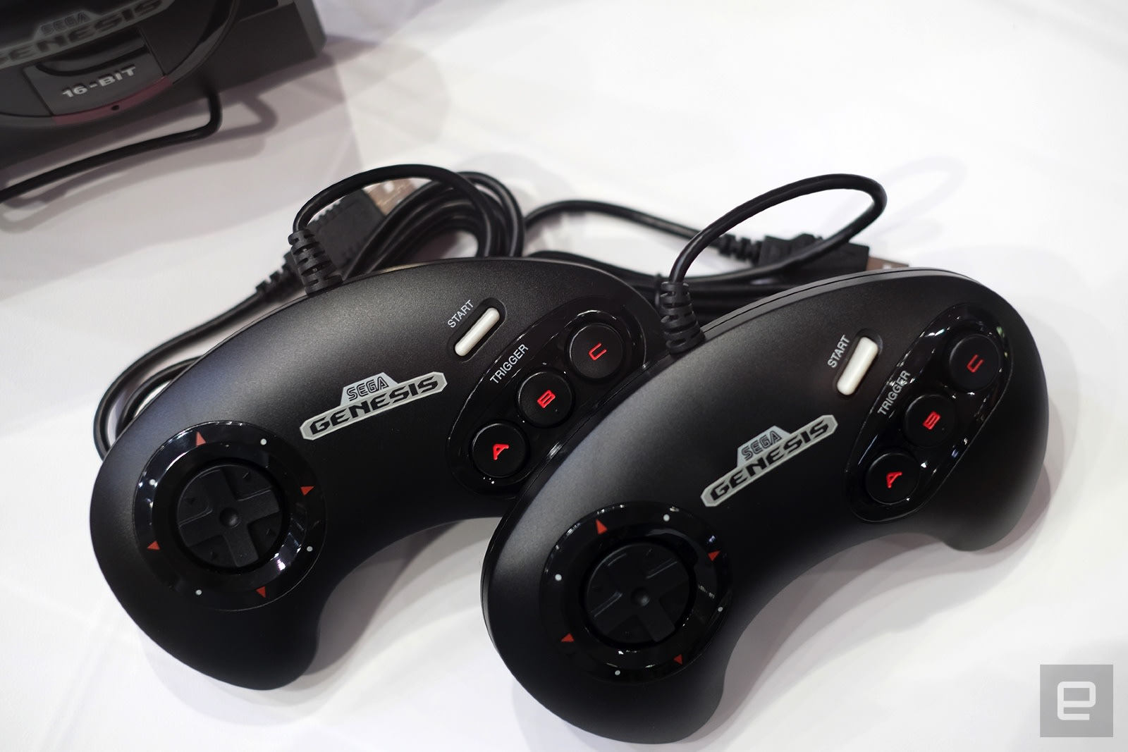 photo of Sega Genesis Mini hands-on: The controller is faithfully clunky image