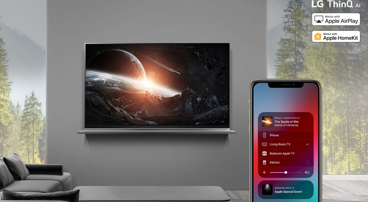 LG's 2019 TVs are ready to work with Apple AirPlay 2 and HomeKit