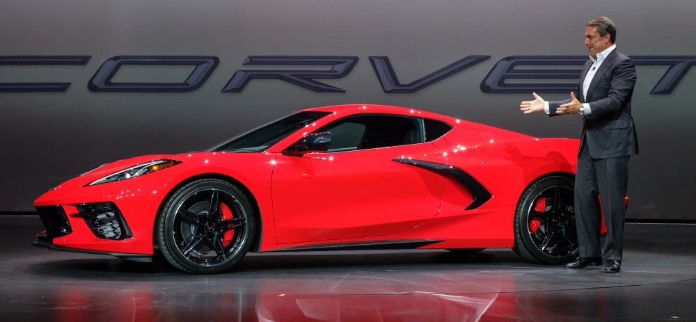 2020 Corvette Moves The Engine Back And Adds Over The Air