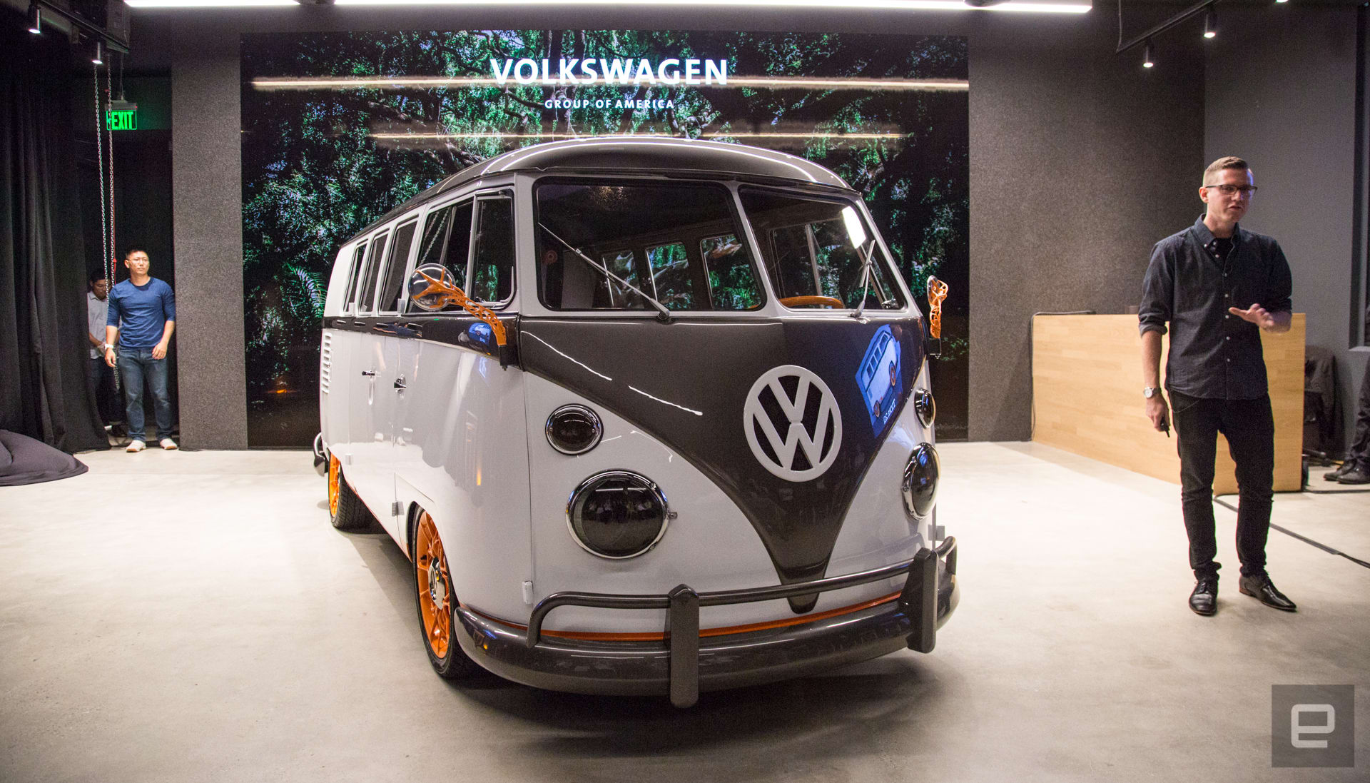 Volkswagen's Type 20 electric concept merges old-school and new