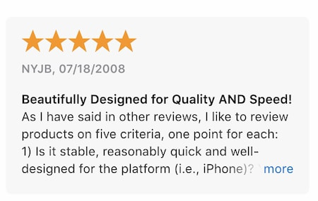 Texas Hold'em App Store reviews