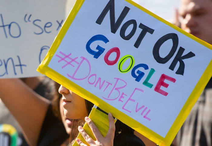 Another employee behind the Google Walkout has left the company