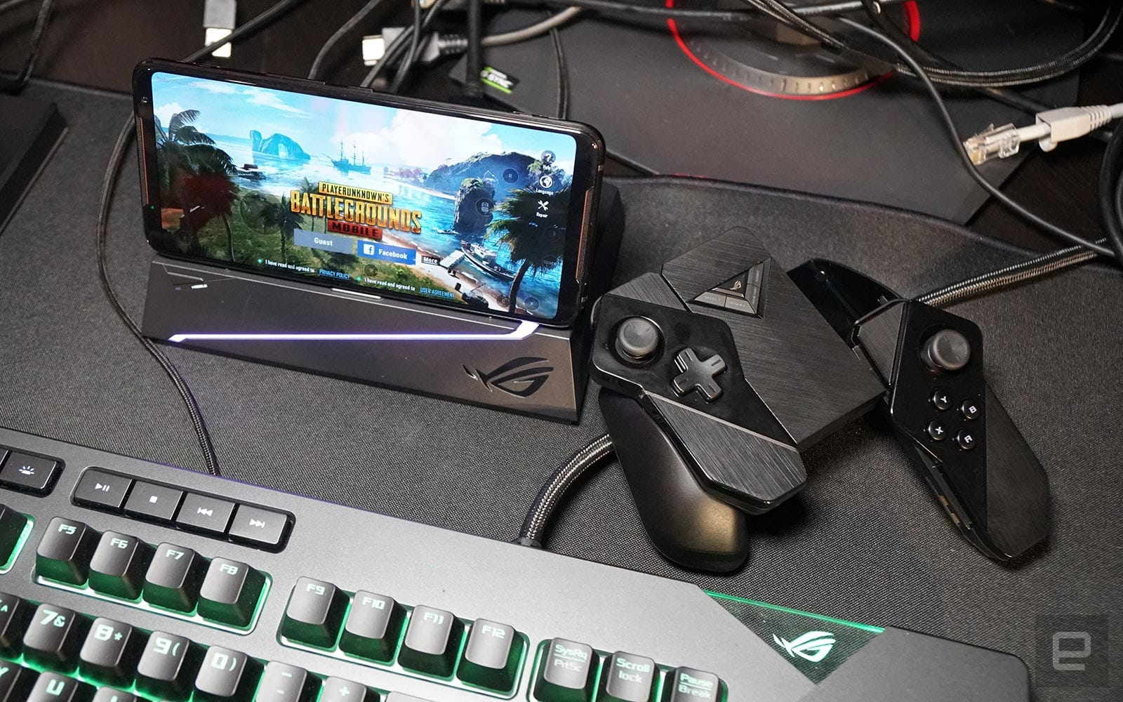 ASUS' ROG Phone II combines high-spec power with accessory