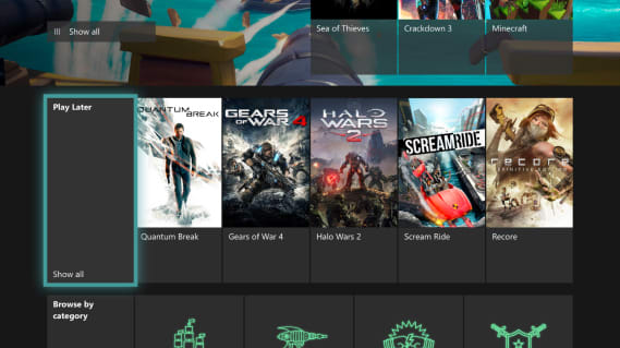 Xbox Game Pass now lets you add titles to a 'play later' list