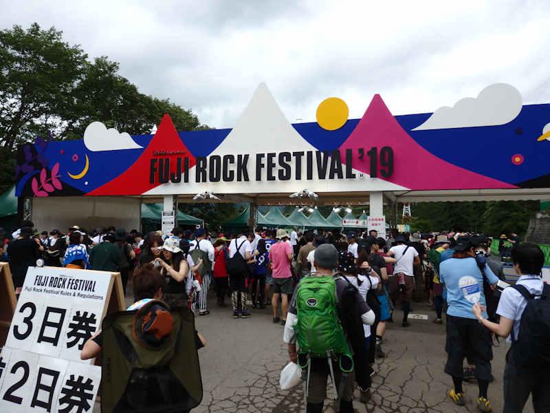 FUji ROCK 19