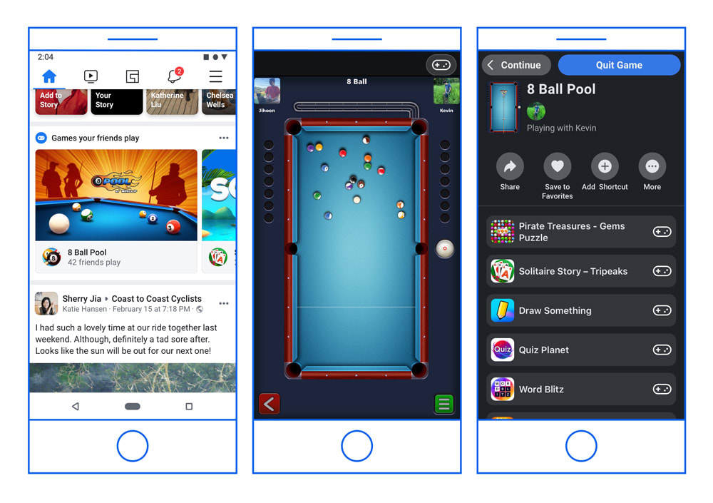 Facebook's Instant Games are leaving Messenger