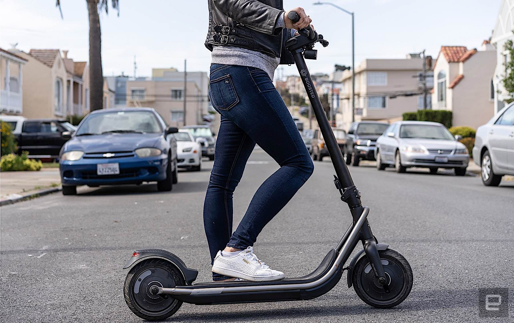 Boosted's Rev scooter is an inconveniently fun powerhouse