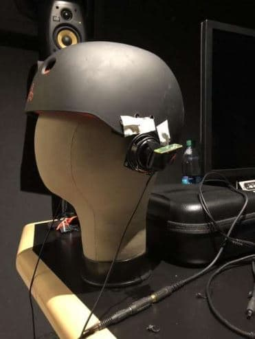 Valve's first prototype of the Index Ear Speakers