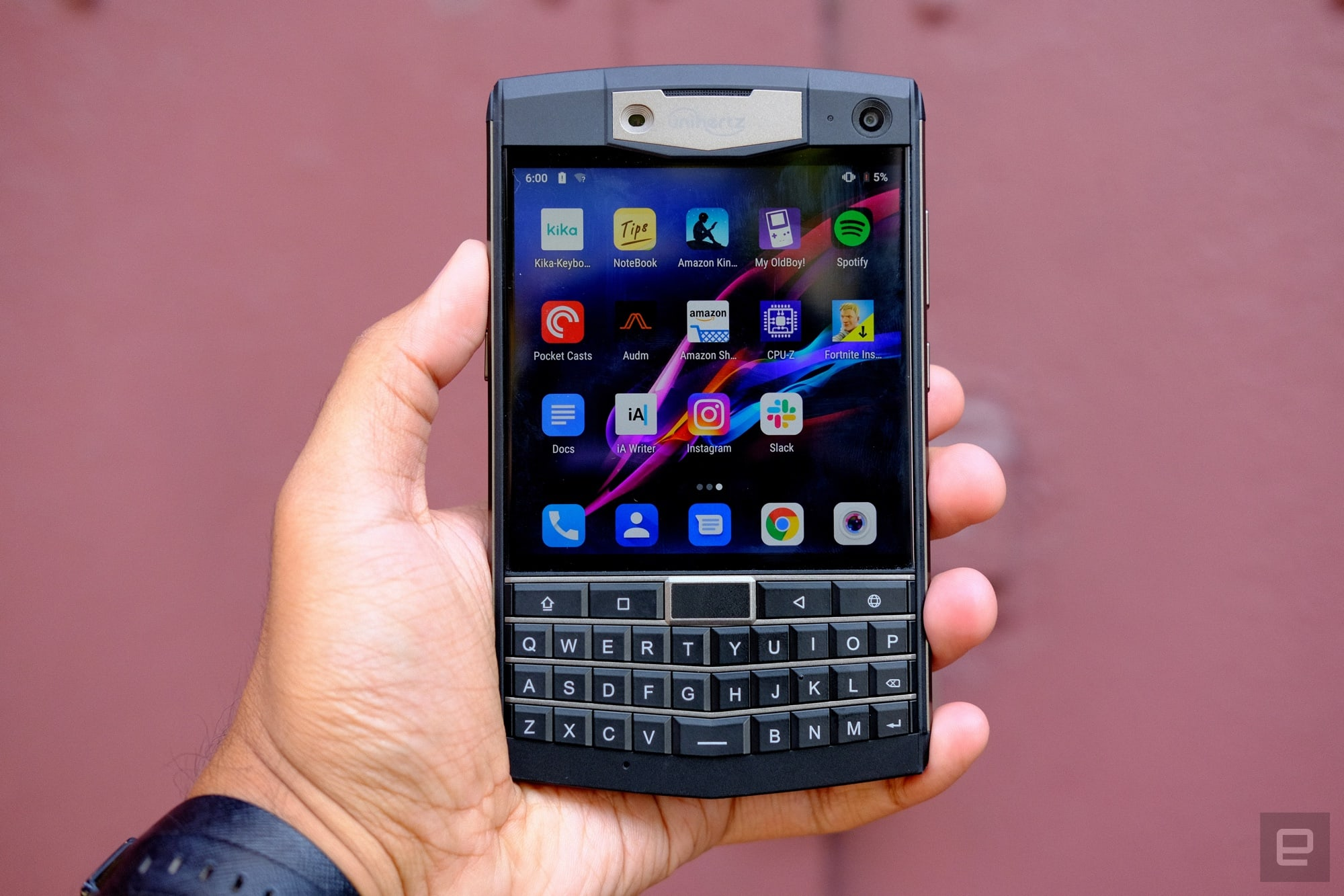 My Frustrating Time With A Charming Rugged Blackberry Clone