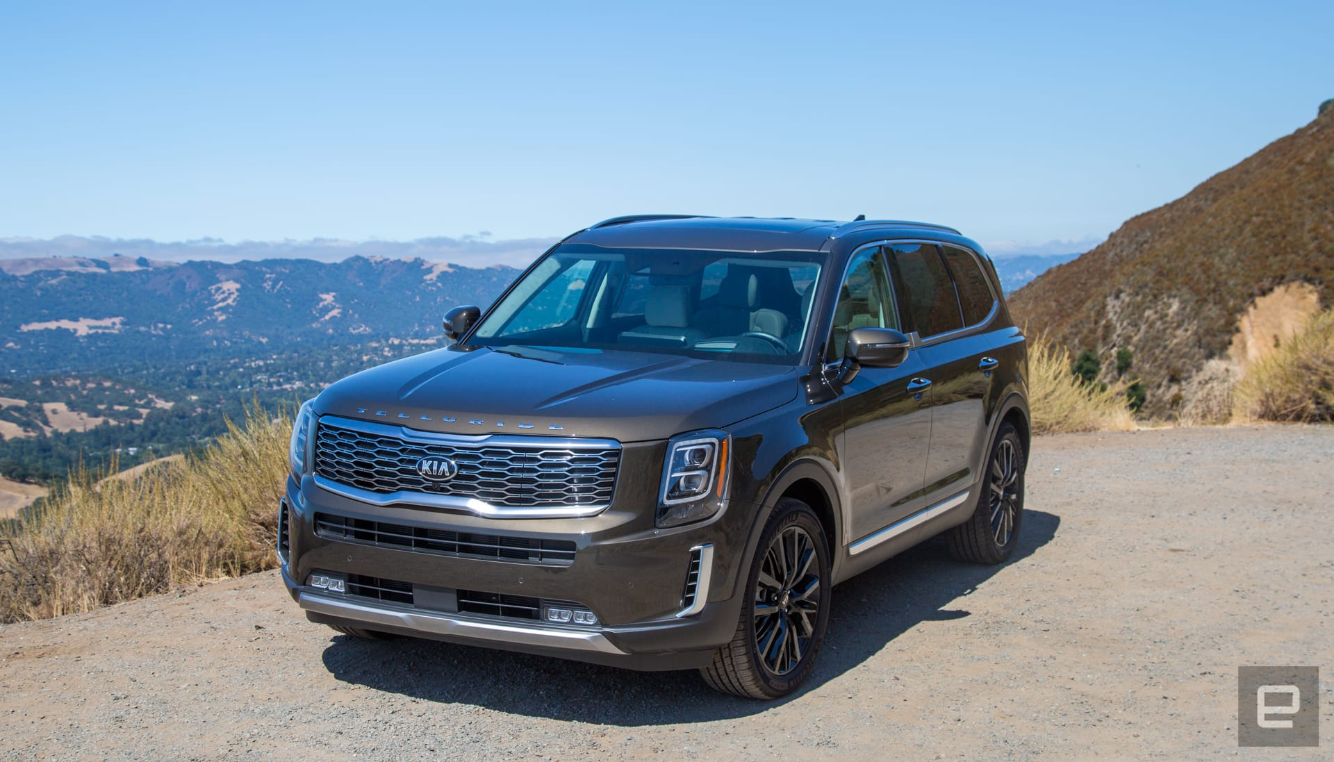 The Kia Telluride Is Surprisingly High Tech And Stylish For