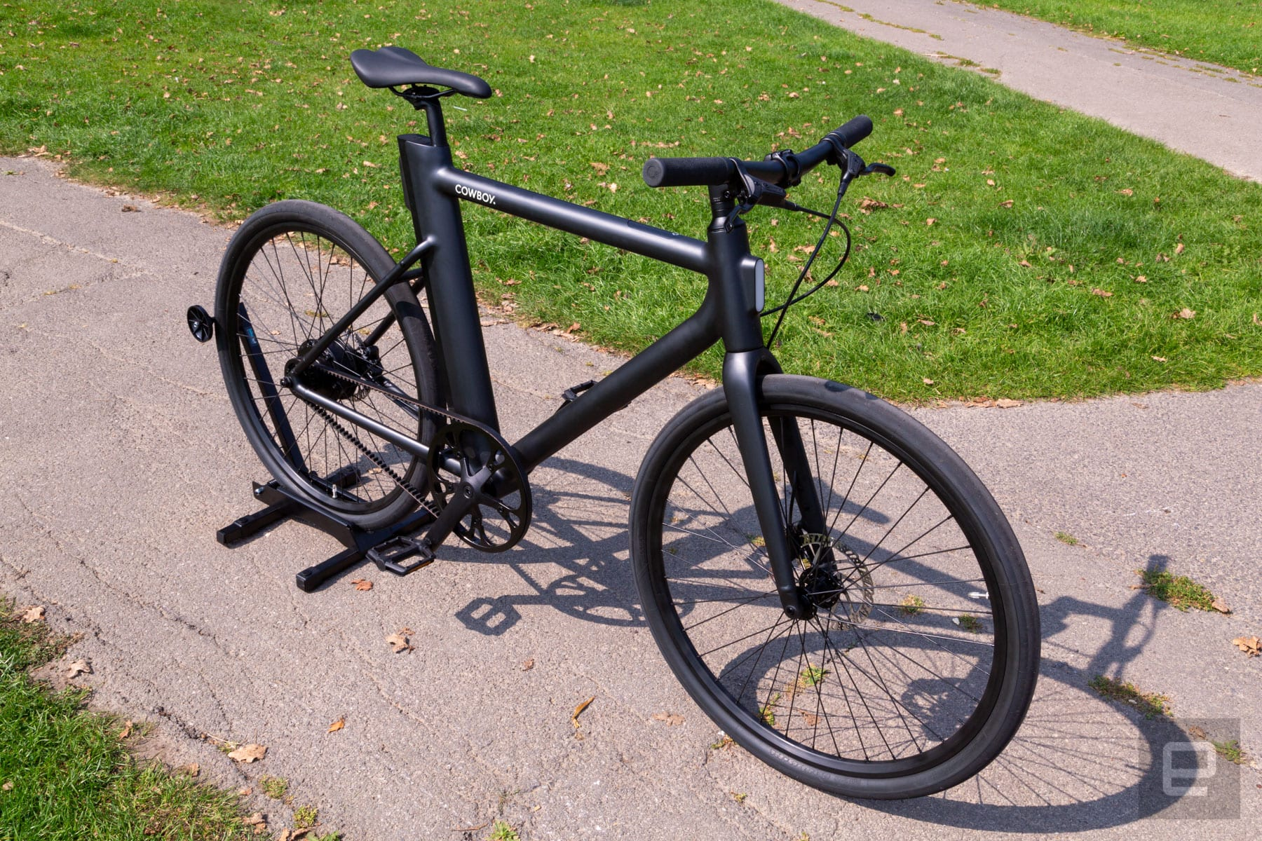 E Bike Solves The Removable Battery