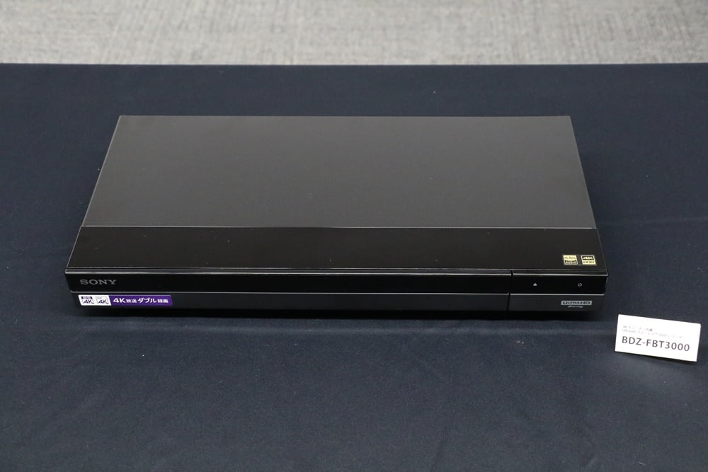 SONY 4K Blu-ray Disc Recorder 201985