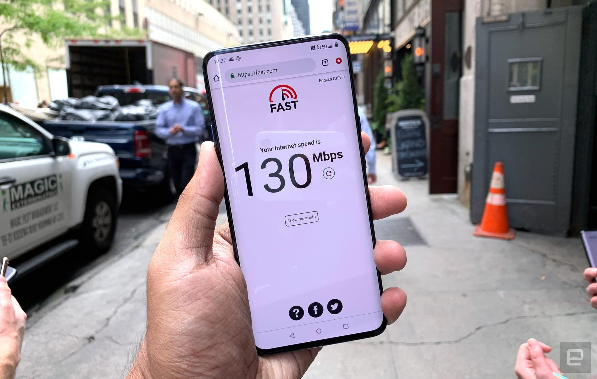 Sprint's 5G network in NYC isn't crazy fast, but it's fast enough