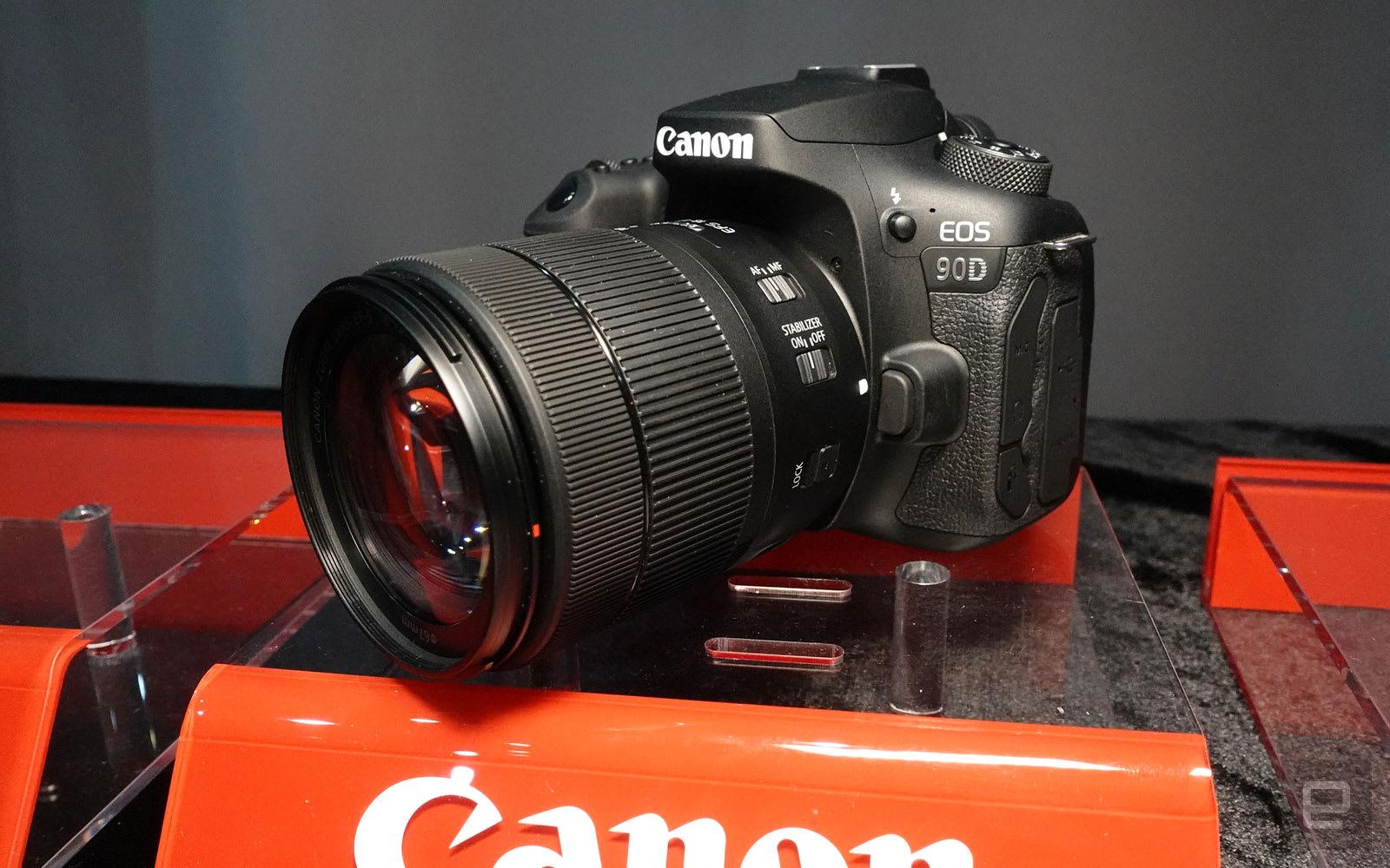 Canon EOS 90D 香港动手玩