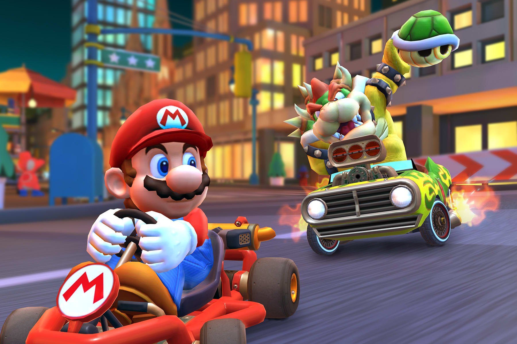 'Mario Kart Tour' is a simple racer surrounded by free-to-play complexity