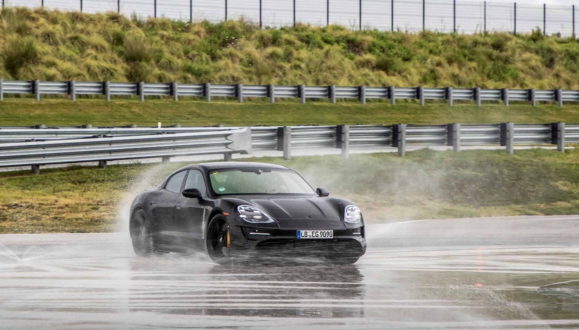 Porsche Taycan first ride