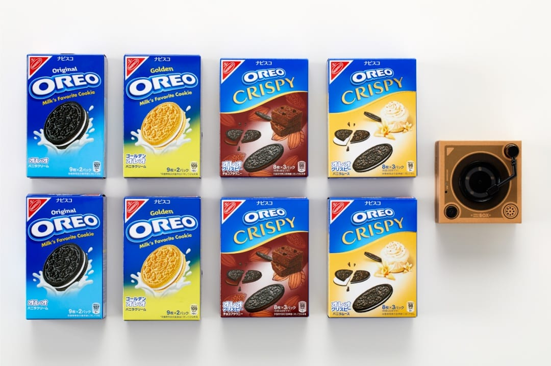 Oreo Cookies Music Player