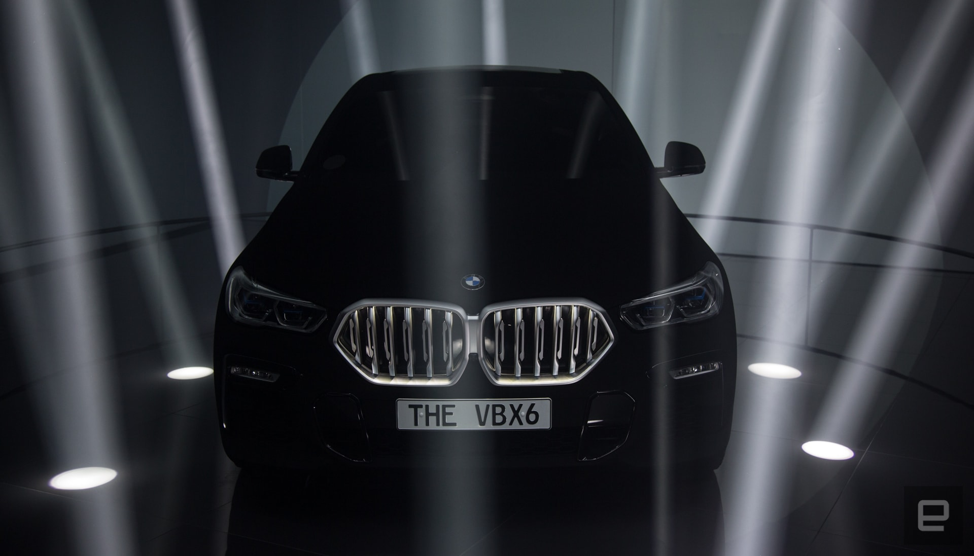 Even BMW's 'Vantablack' X6 gets caught by LiDAR