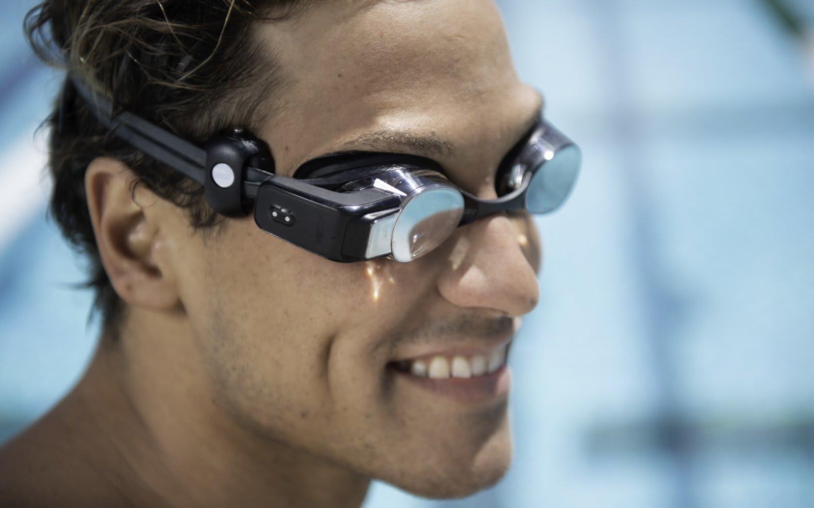 Formの水泳用ARゴーグルに心拍数表示機能が追加。Polar OH1/OH1+と連携可能に