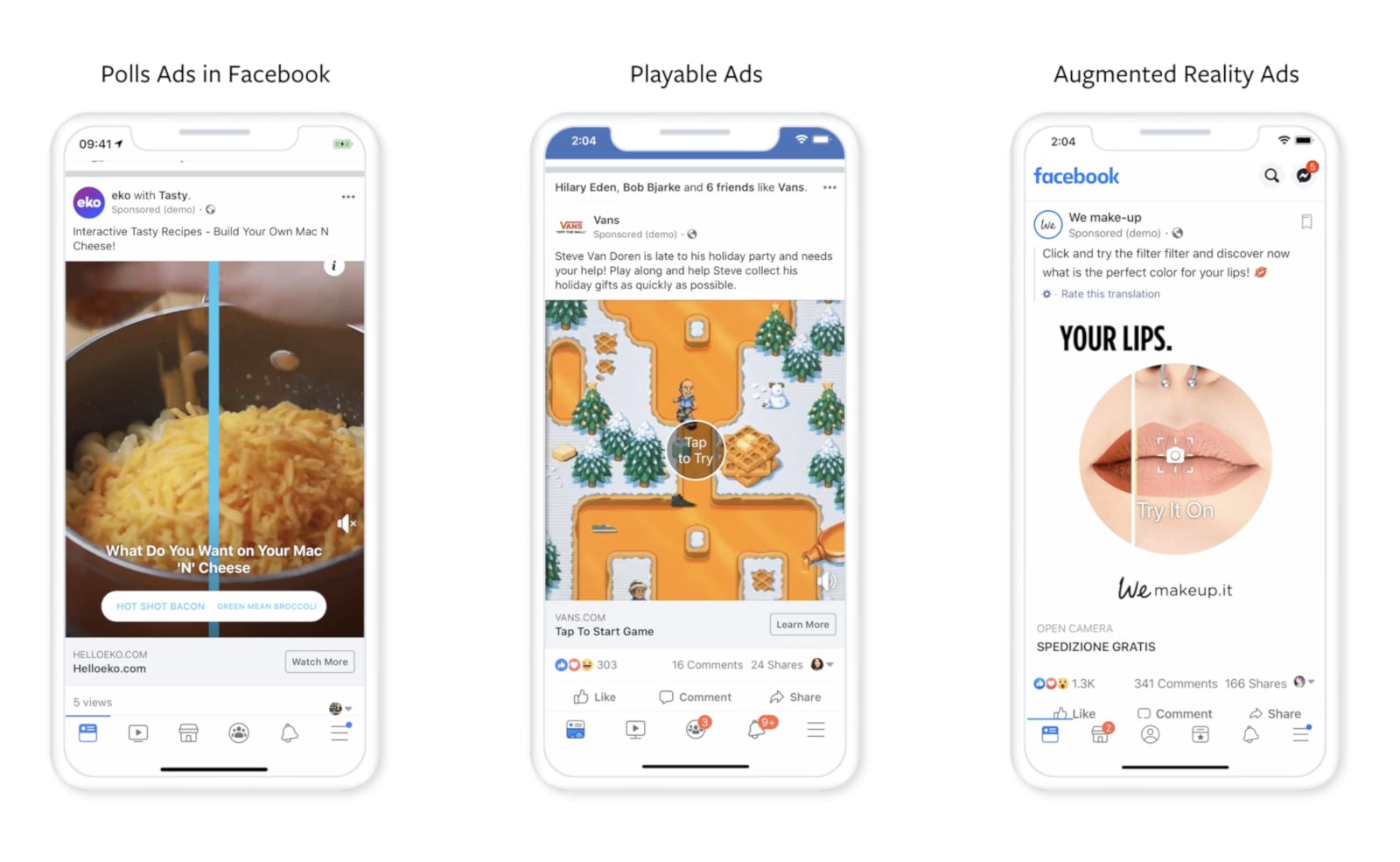 Facebook wants to make its ads more interactive