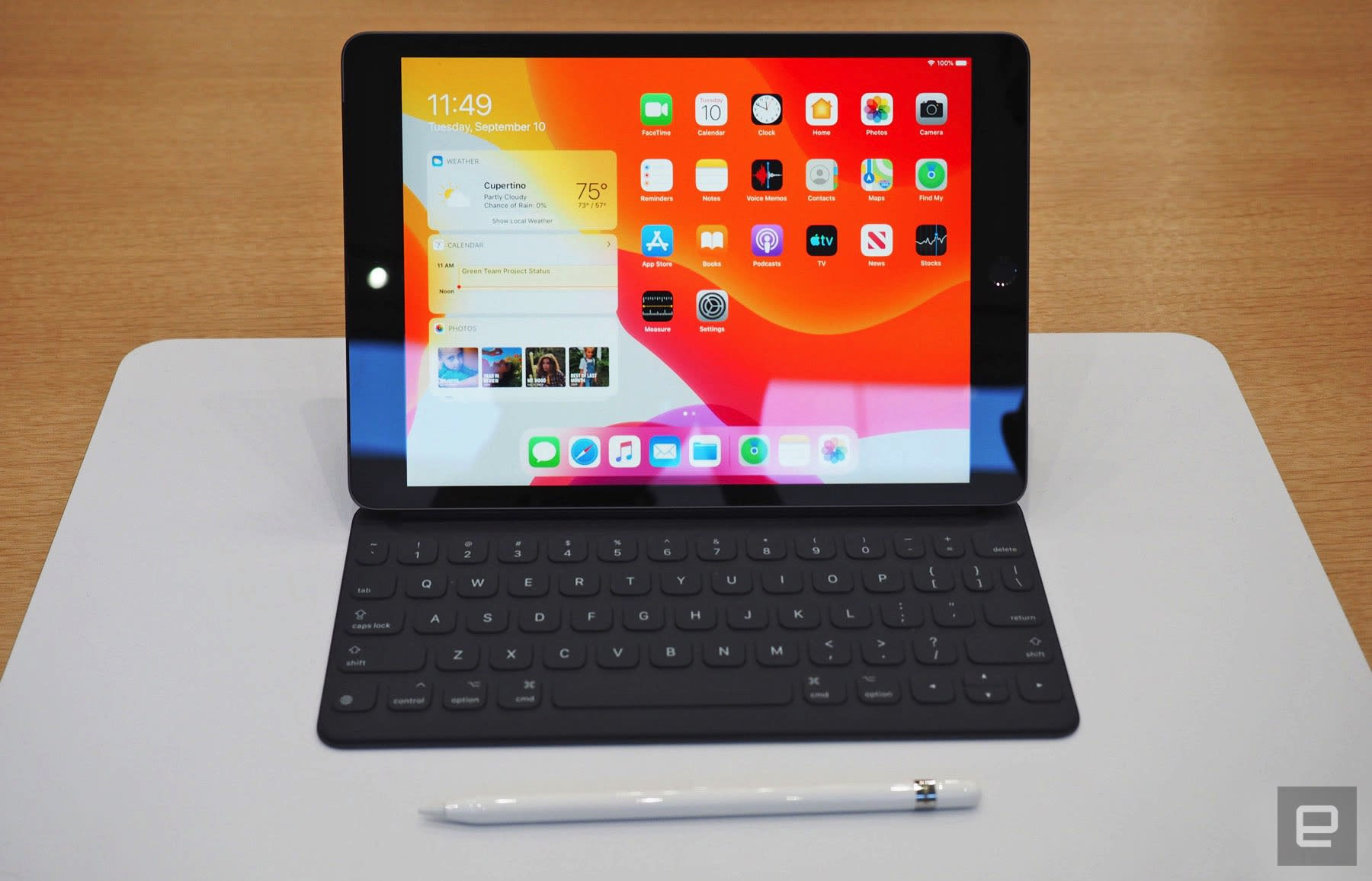 A brief first look at Apple's seventh-generation iPad