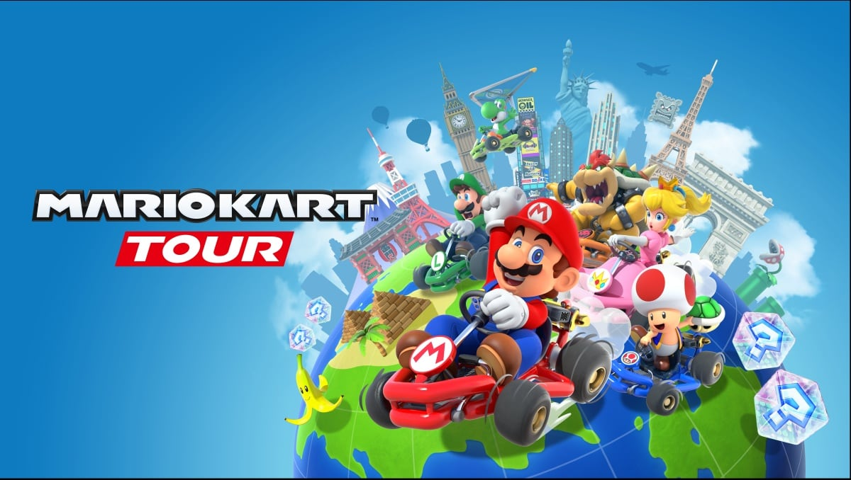 'Mario Kart Tour' mobile racing begins at 4AM ET on Android and iOS