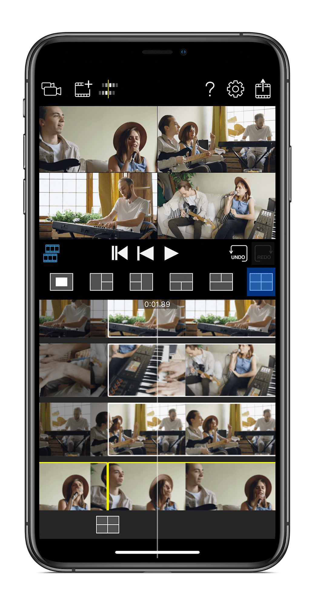 photo of Roland's app can sync four iPhones to shoot multi-camera videos image