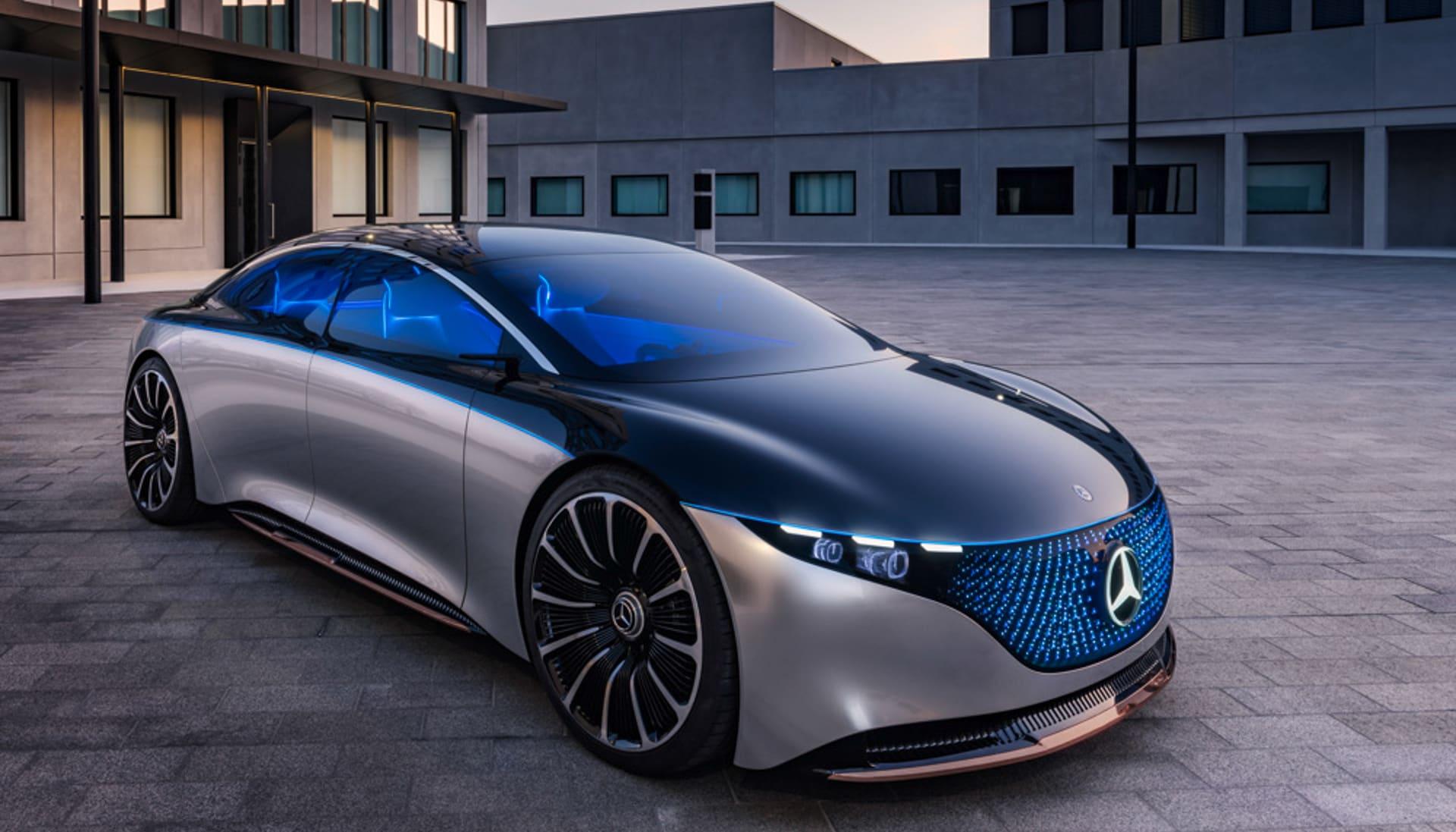 Mercedes' Vision EQS is a peek at its EV future