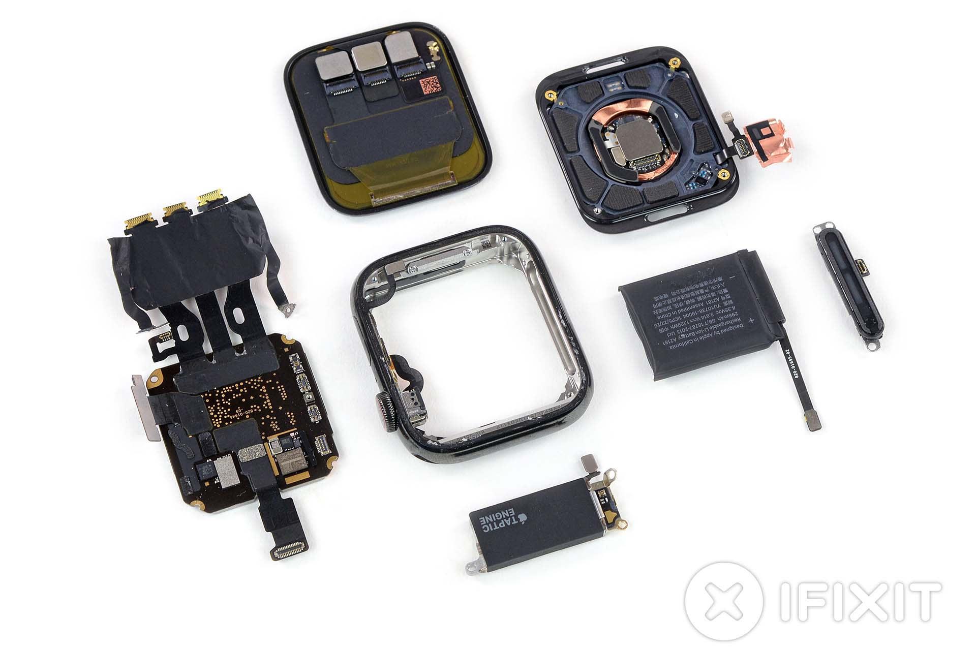 iFixitがApple Watch Series 5を分解。Series 4とほぼ同じながら細かな変更 - Engadget Japanese