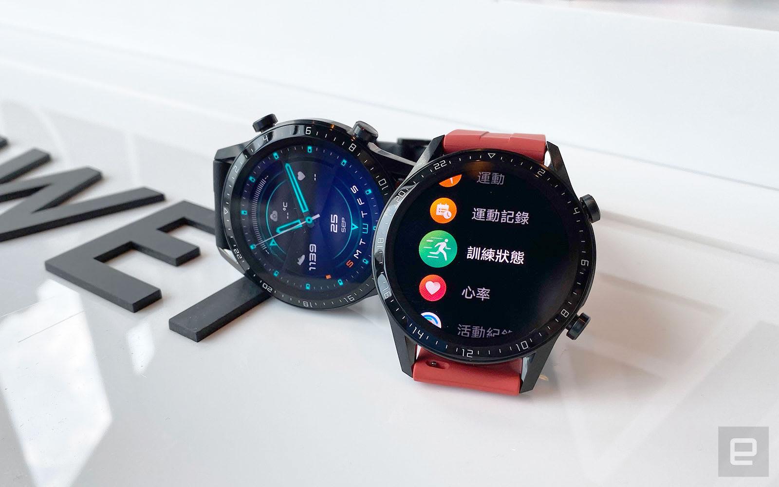 華為 Watch GT 2 香港動手玩