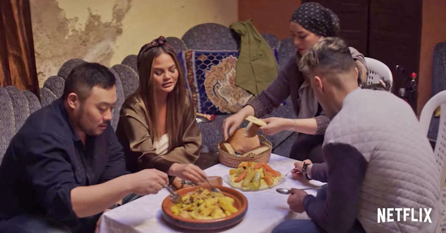 David Chang's latest Netflix show sends celebrities on a world food tour