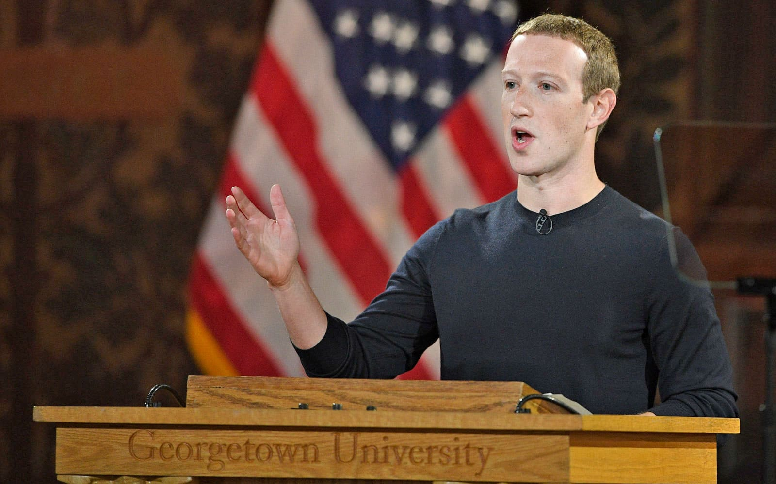 Mark Zuckerberg defends free speech on Facebook