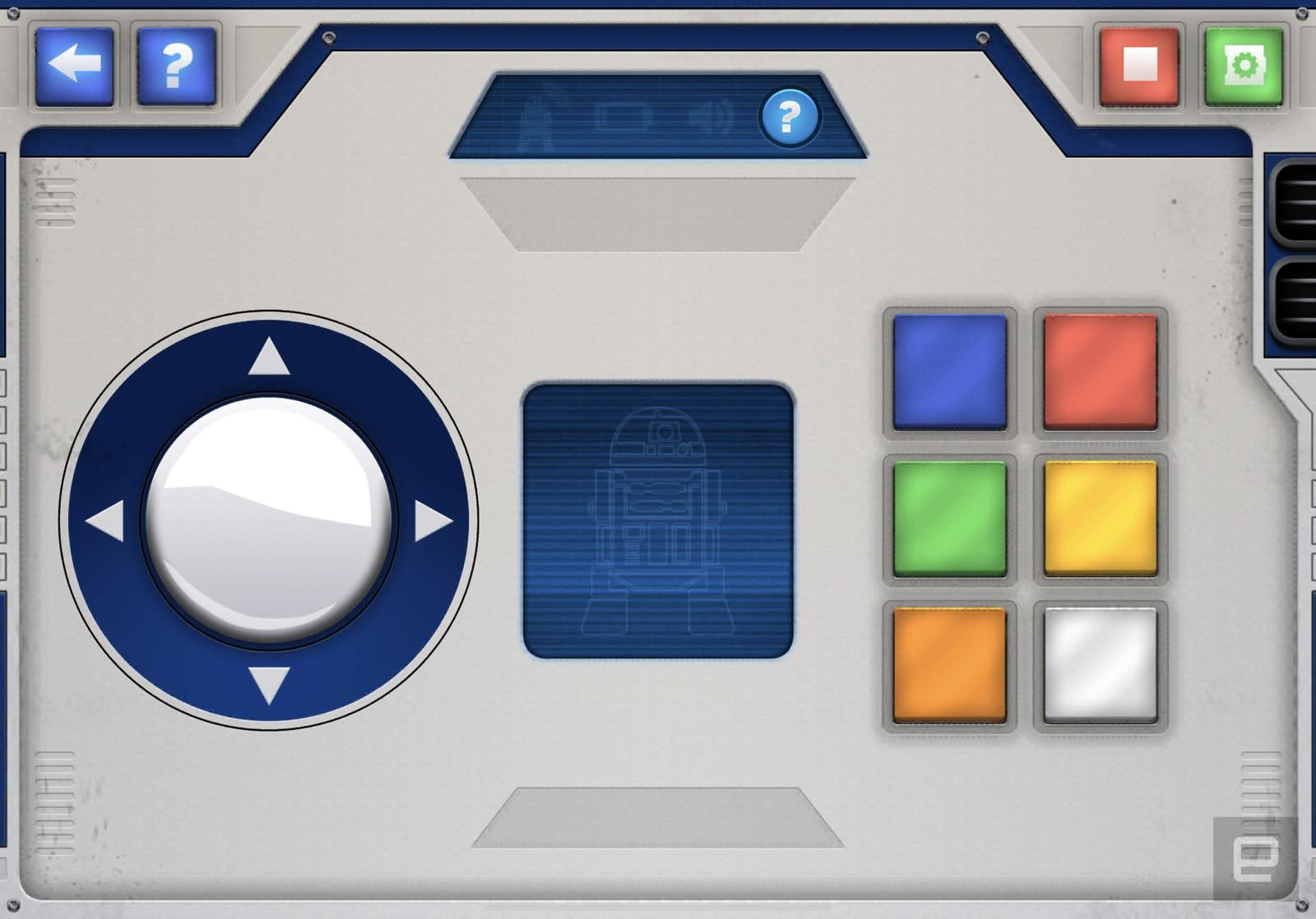 Lego Boost Droid Commander 软件界面