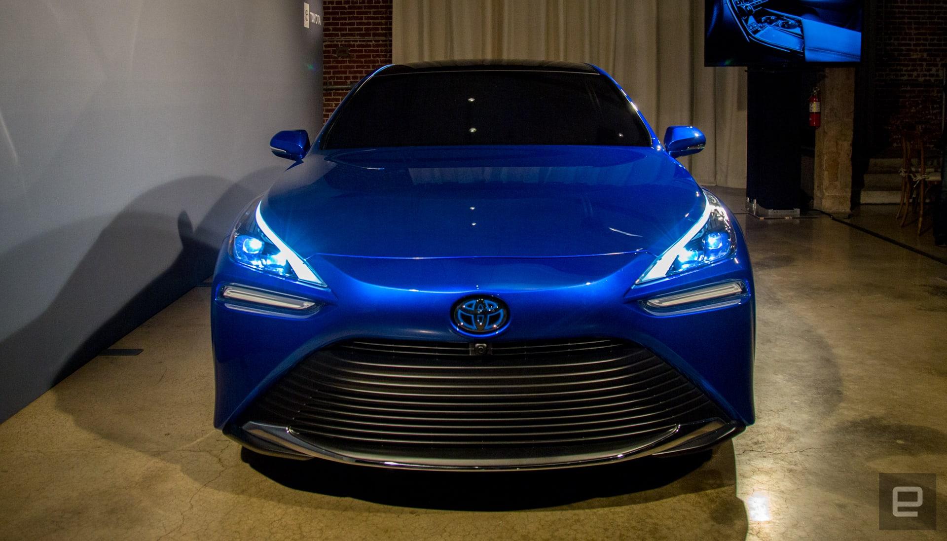 2021 Toyota Mirai unveil