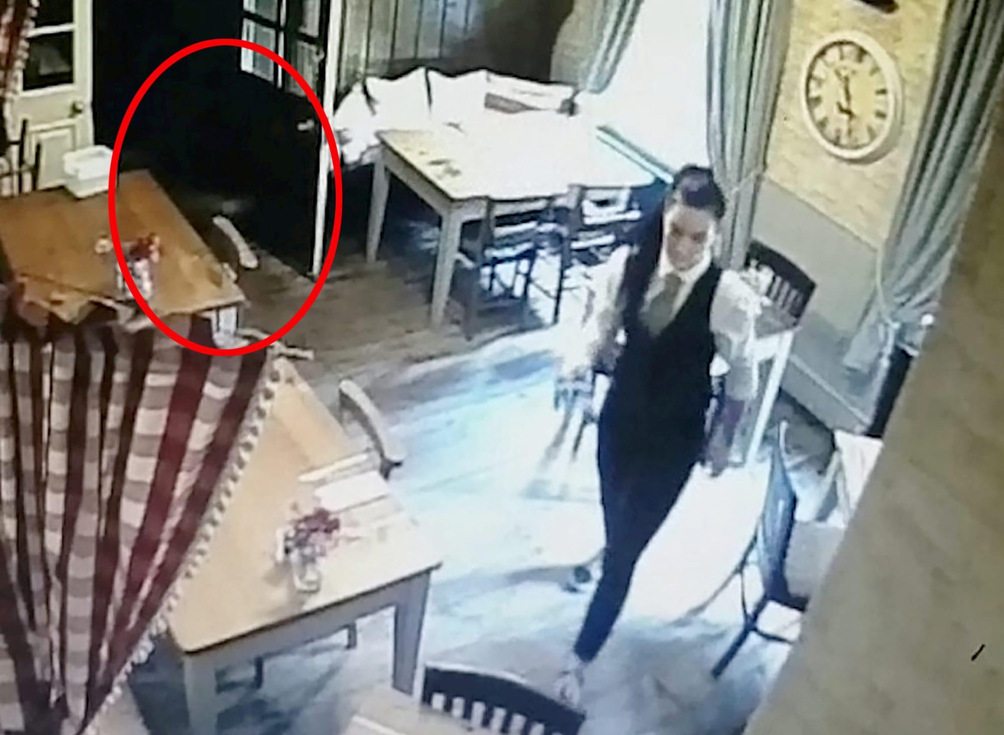 Kitchen CCTV