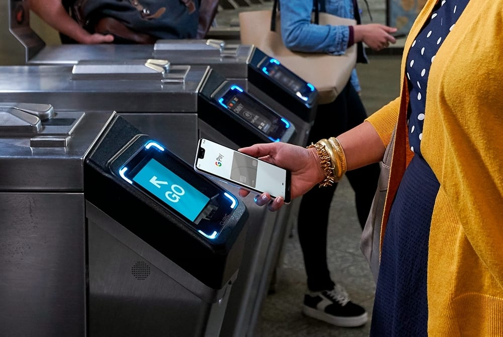 Google Pay will soon work with major public transit cards