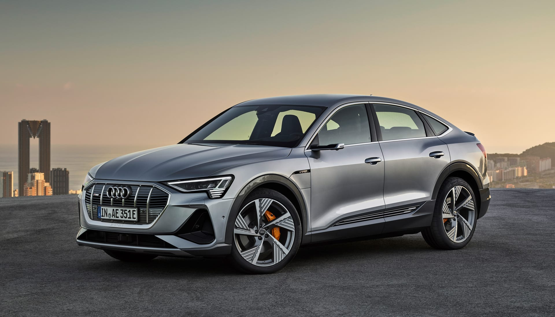 Audi's E-Tron Sportback adds style and range to the line