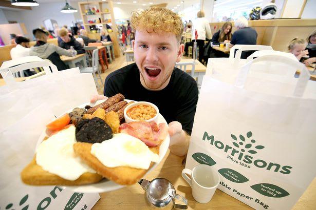 Breakfast at Morrisons