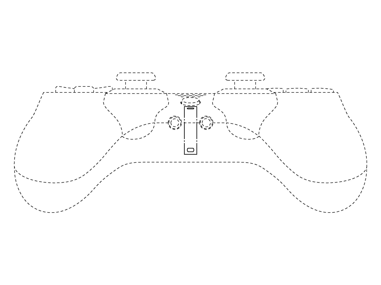 Sony controller patent
