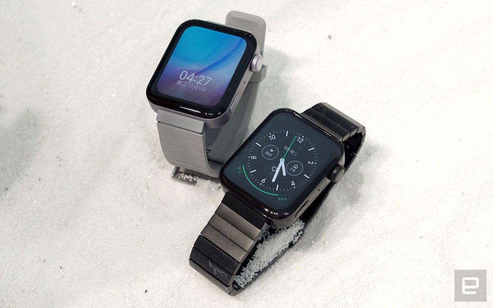 Xiaomi's Mi Watch looks like an Apple Watch but it's half the price