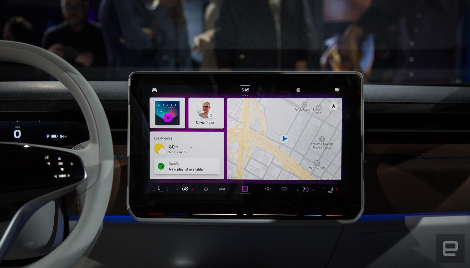 Volkswagen ID Space Vizzion concept unveil