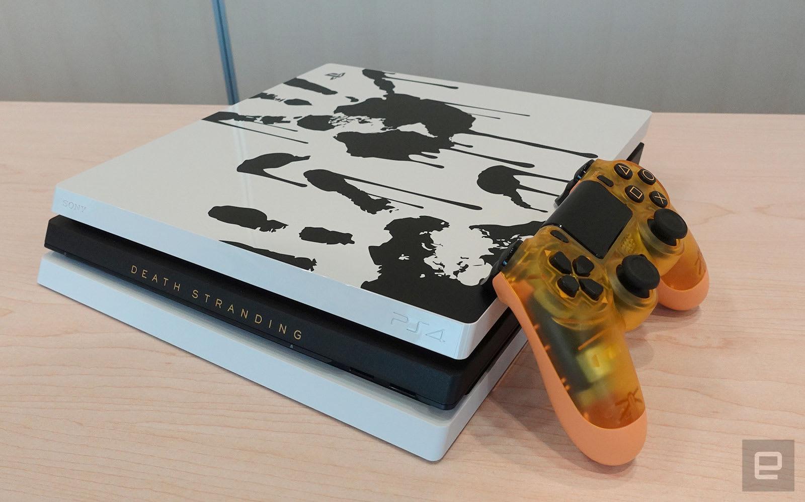 Death Stranding 珍藏版游戏 + 特别版主机开箱