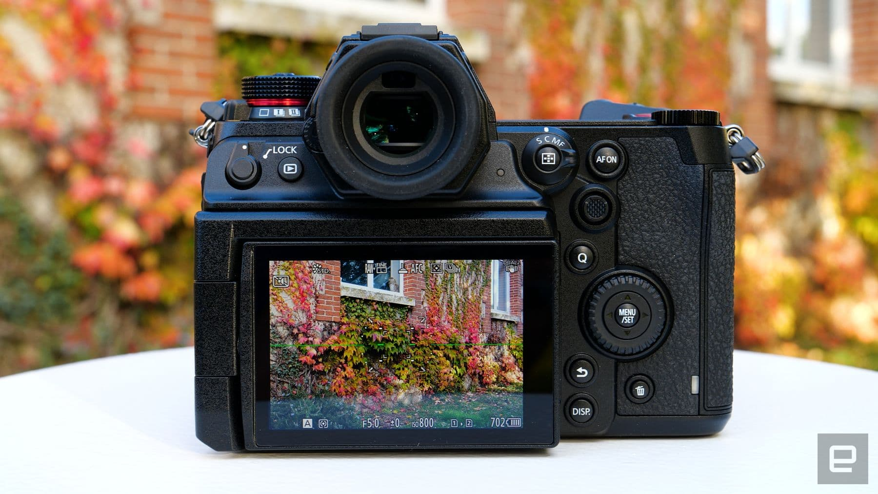 Panasonic Lumix S1H full-frame mirrorless camera