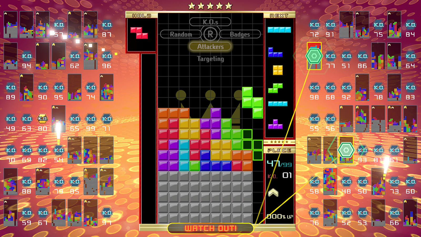 Nintendo Switch Tetris 99