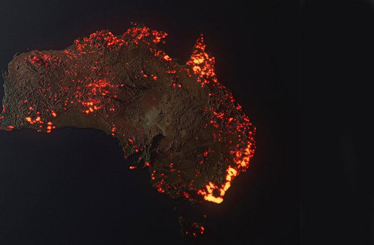 Australia fire image