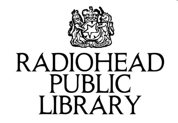 Radiohead's online 'library' hosts rarities, art and merch
