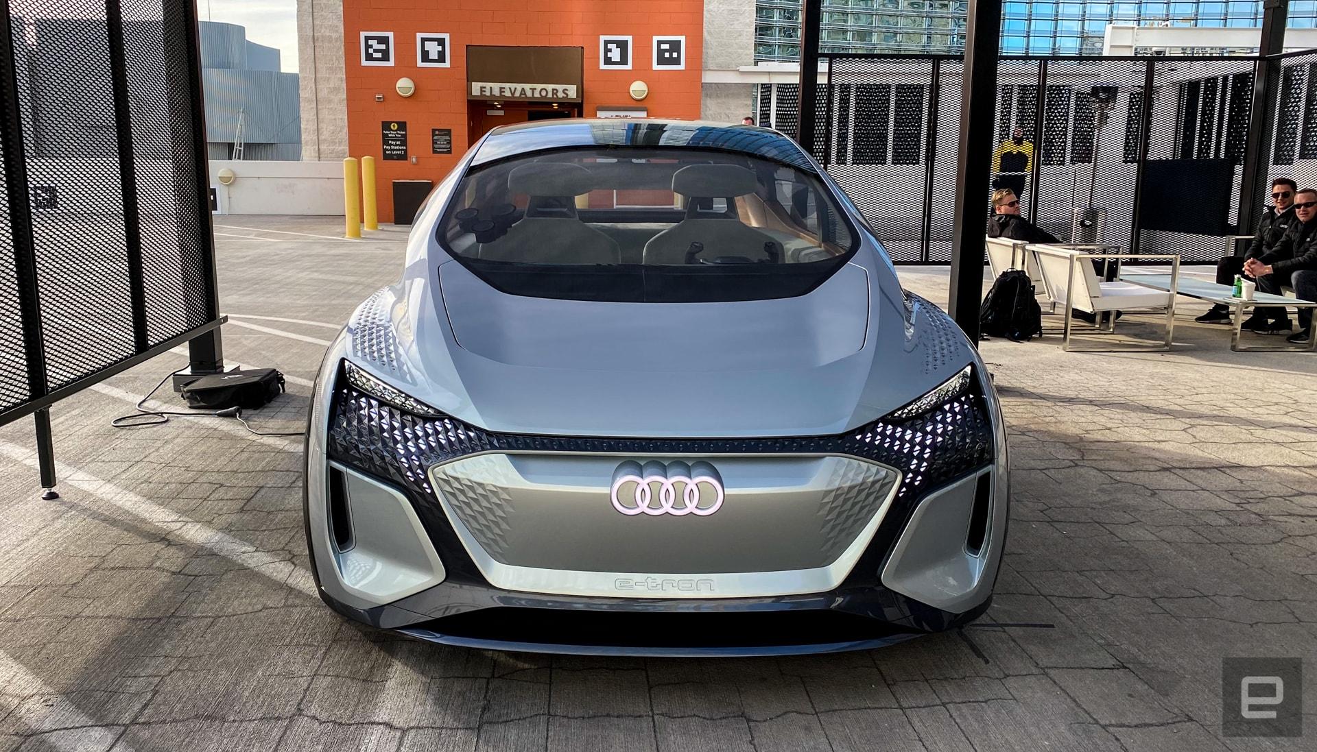 Audi AI:Me Concept Car