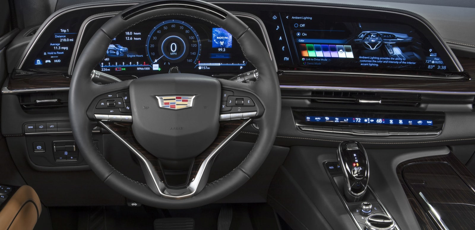 2021 Cadillac Escalade packs 38-inches of curved OLED screens and Super Cruise